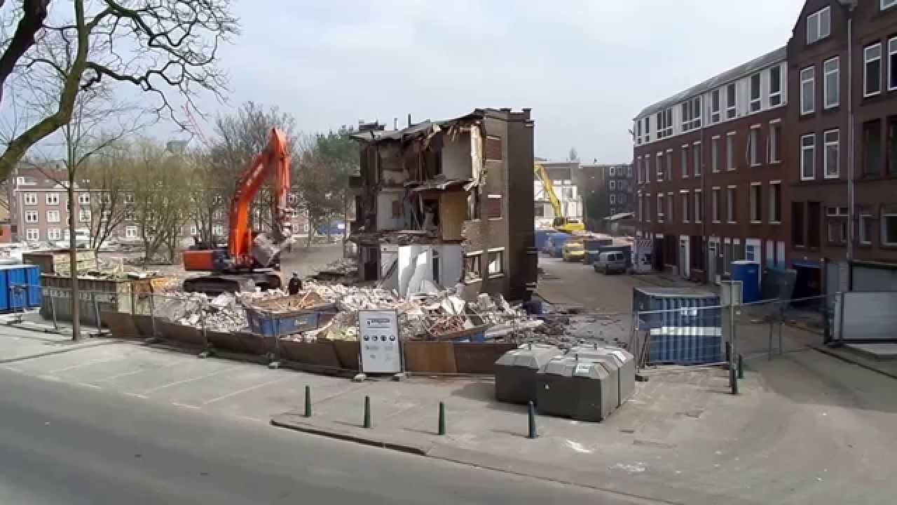Deel 4 sloopwerken struyk krimpen a d lek kerkhofstraat for Rotterdam crooswijk