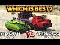 GTA 5 ONLINE : KHANJALI VS CHERNOBOG (WHICH IS BEST?)
