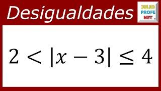 DESIGUALDADES CON VALOR ABSOLUTO - Casos 2 y 3
