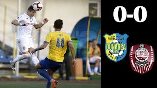 Telekom Sport: Dunarea Calarasi - CFR Cluj 0-0 (Liga 1, editia 2018-2019, et 2)