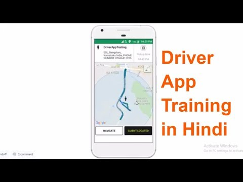 Olacabs Driver App Live Training In Hindi | Olacabs Hyd