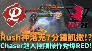 (城市賽四強)Rush神洛克7分鐘凱撒!?Chaser超人極限操作秀爆RED!