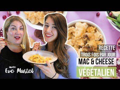 macaroni-au-fromage-végétalien---collab-cuisine-avec-eve-martel-|-recette-vegan-trois-fois-par-jour