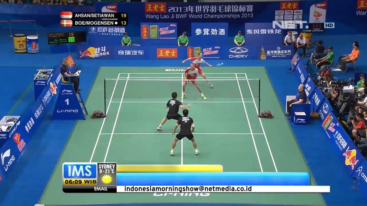 IMS Tim Bulutangkis Indonesia Memenangkan Juara Dunia