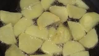 Вкусный рецепт приготовления «Жареный перец с луком и картошкой»🤤🌶🥔🍽