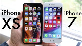 iPHONE XS Vs iPHONE 7! (Should You Upgrade?) (Review)
