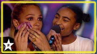 Alesha Dixon Breaks Down Watching 14 Year Old Singer On Britainand39s Got Talent  Kids Got Talent