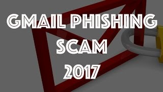 Google Gmail Phishing Scam Hacking Gmail Password 2017