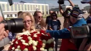 Expedition 52 Crew Receives Warm Welcome in Kazakhstan and Star City