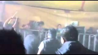 Pelea en cabina de sonido masterboy san lorenzo cuahutenco toluca 7/05/16