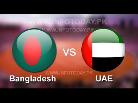 Bangladesh Vs United Arab Emirates 3rd Match Live--- Mirpur Sheree bangle Stadium Dhaka