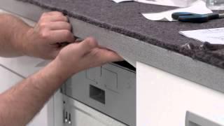 Electrolux. Установка посудомойки 45 cm