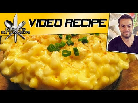 how to make macaroni cheese with cheddar cheese condensed soup