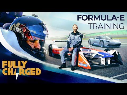 Pininfarina Battista EV hypercar development and Formula-E Training | Fully Charged