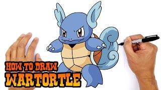 How to Draw Wartortle | Pokemon