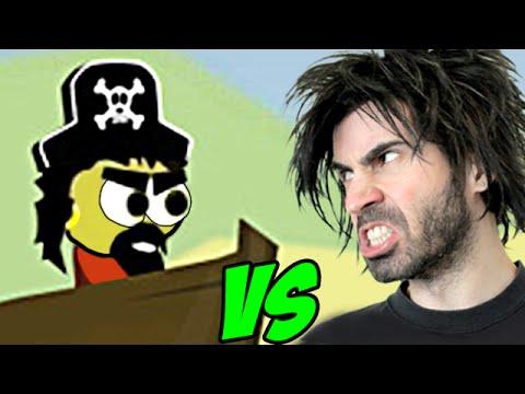 RAFT WARS vs The World's Worst Gamer!