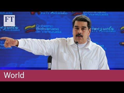 Venezuela's president reacts to US sanctions against wife and allies