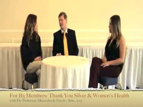 Dr. Pedersen - Silver Solutions for Women - June 2013 - 1 of 5