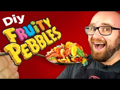 I Attempt to Make Homemade Fruity Pebbles