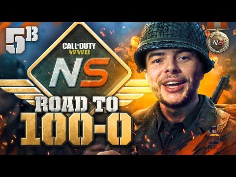 Road to 100-0! - Ep. 5B - How to Outplay Someone! (Call of Duty:WW2 Gamebattles)