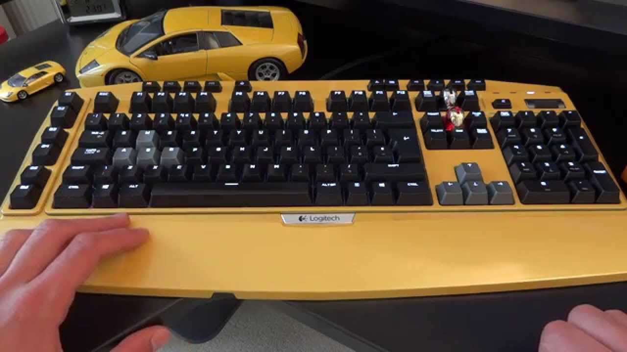 Spray Painting Keyboards