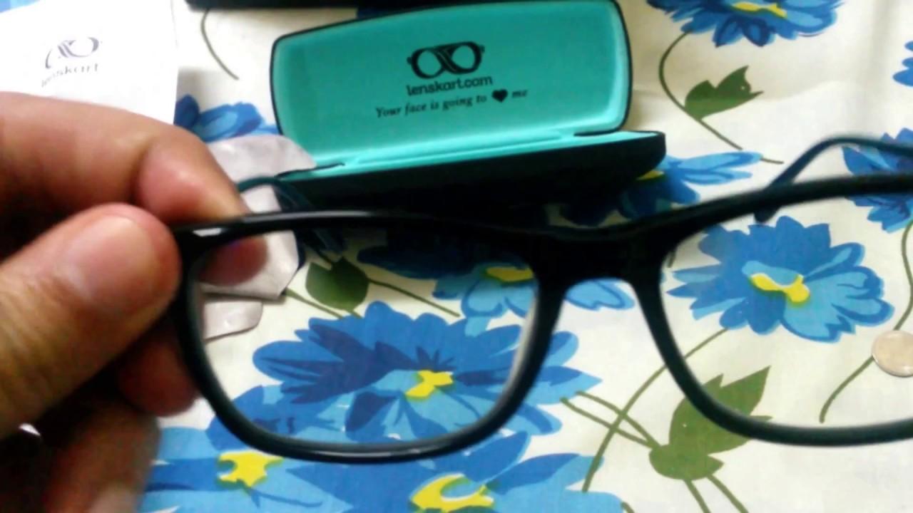 4228b092dd1 My First FREE Blu-Ray Anti-Glare Eyeglasses From Lenskart - YouTube