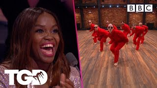 The Queens shake up the Auditions with an unexpected TWIST | The Greatest Dancer | Auditions Week 3