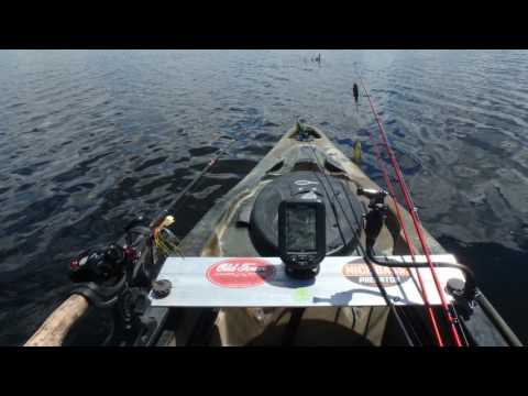 Kayak Bass Fishing Mothers Day Challenge Tournament while Prefishing Fellsmere Reservoir