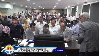 CANLI   Adana Büyükşehir Belediyesi Eylül Ayı Olağan Meclis Toplantısı 2. Oturum