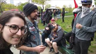 More Incoherant #Antifa Screaming!  #Boston