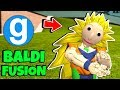 Brand New Super Saiyan 3 Baldi's Basics in Education and Learning Gmod Garry's Mod Sandbox Fusion #1