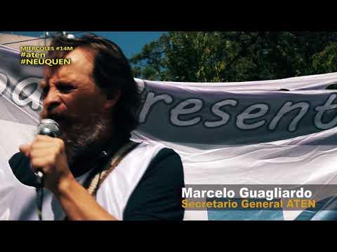#aten #Neuquén #Guagliardo #14M Mensaje al Gobernador Gutiérrez