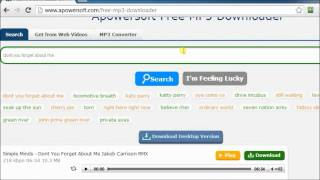 Download Recommendable MP3 search engine - free search and download songs