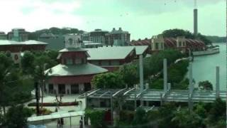 Singapore - Sentosa Express - Beach Station to Sentosa Station HD (2012)