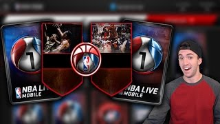 PLAYOFF + BIG MOMENTS PACK OPENING - 2 PLAYOFFS ELITES IN ONE PACK!!!! - NBA Live Mobile