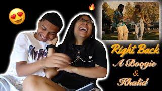 Khalid Right Back ft A Boogie Wit Da Hoodie Official Reaction w Girlfriend
