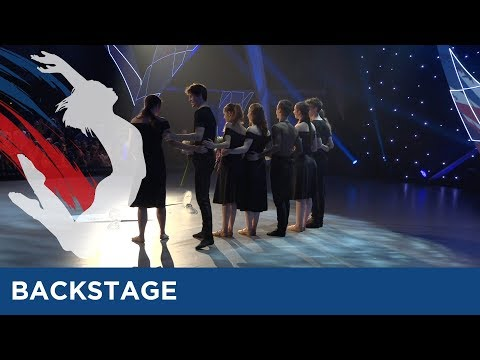 Backstage At The Final Of Eurovision Young Dancers 2017