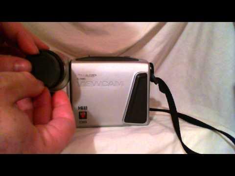 SOLD: Sharp Viewcam VL-H860U Camcorder Missing Battery