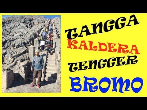menaiki-250-anak-tangga-ke-kaldera-tengger,-kawah-bromo
