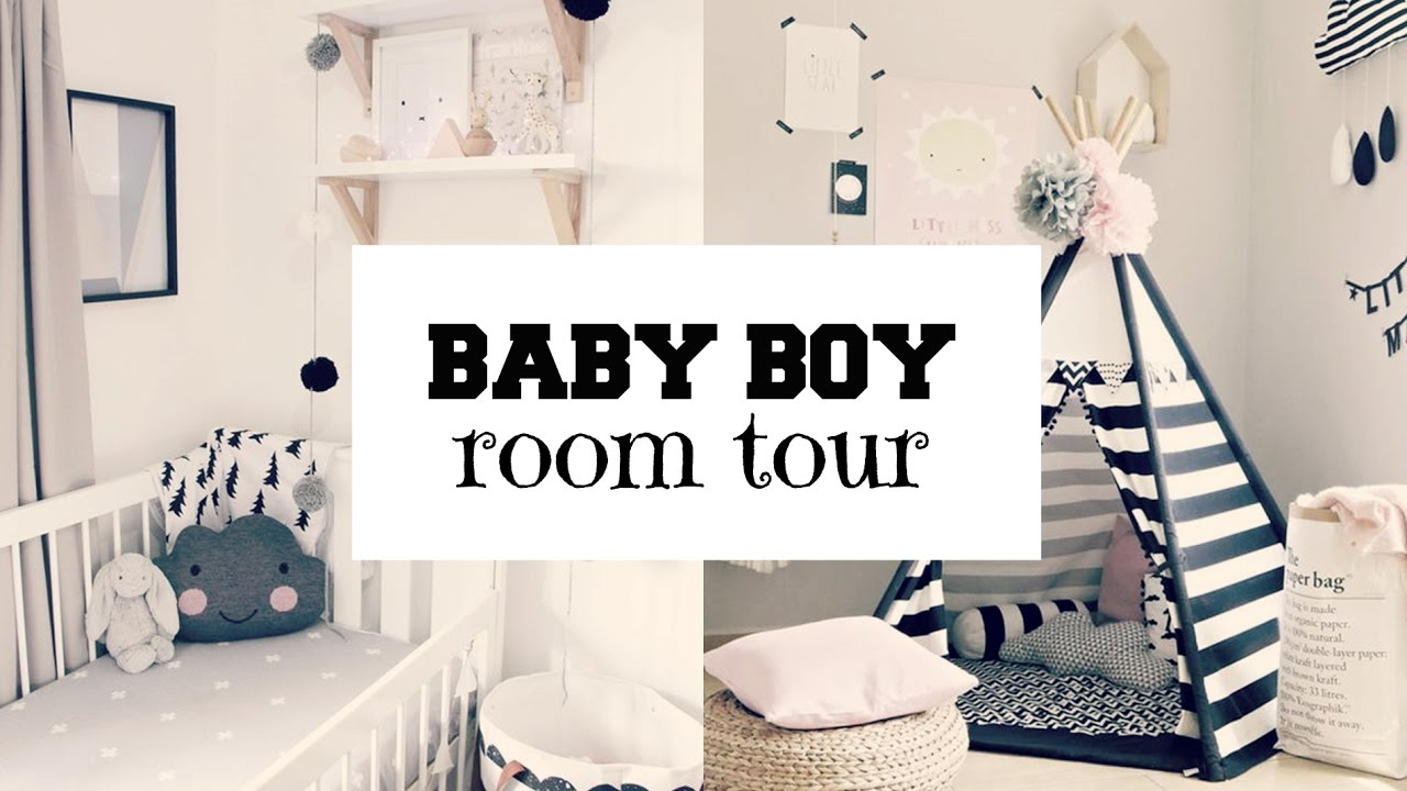 Baby Boy Nursery Tour: BABY BOY NURSERY TOUR 2017 ♡ L NAUTICAL THEME