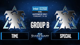 SC2 - TIME vs. SpeCial - IEM Katowice 2021 - Group B