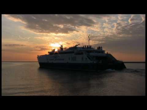 Take a Ride on the Lake Express - Lake Michigan's high speed ferry.