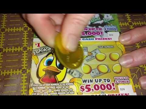 $1.00 Georgia Lottery Tickets From Ga Scratcher