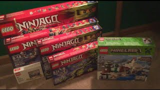 LEGO Store HAUL Ninjago Summer 2015 Sets! 8/1/15