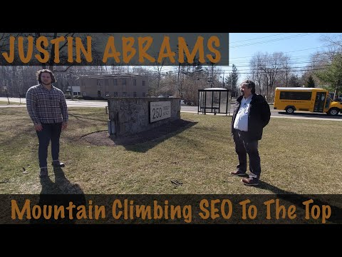 Justin Abrams On Customer Success From Mountain Climbing To SEO Technology - YouTube