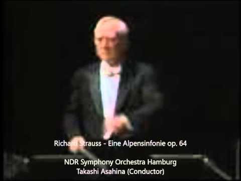 R. Strauss - Eine Alpensinfonie, Οp.  64 - Takashi Asahina  (Cond.) - NDR Symphony Orchestra