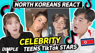North Koreans React to American Teenage Tik Tok Stars