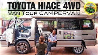 Malaysian Man Drives to UK in a Toyota Hiace 4WD Campervan | #VANTOUR
