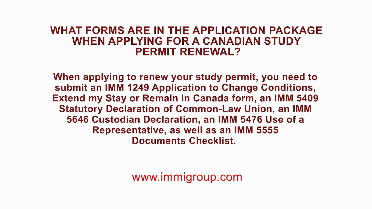 Applying for work permit extension/renewal at Canadian/US ...