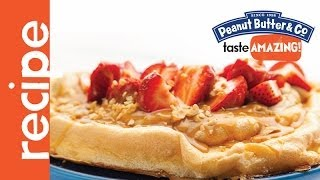 Peanut Butter And Strawberry Pavlova Recipe